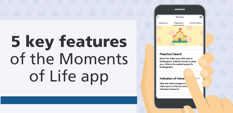 key features of moment of life
