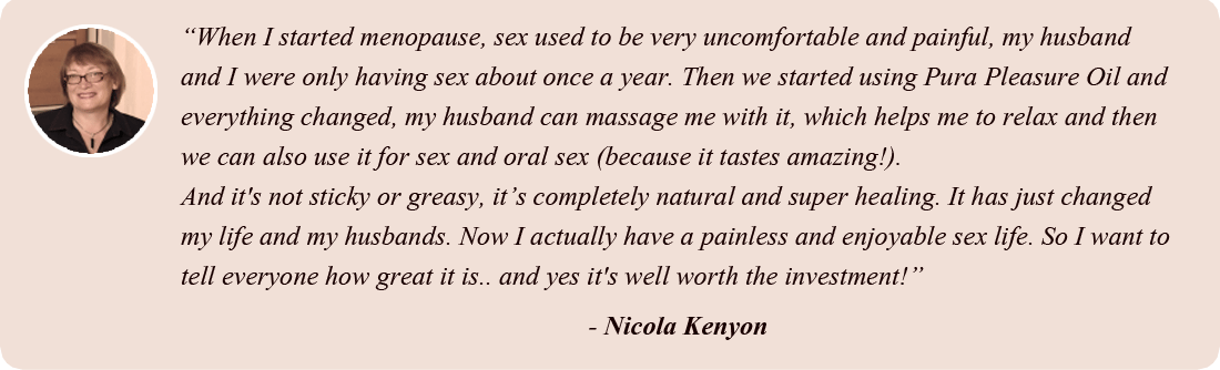 Testimonial from Nicola Kenyon