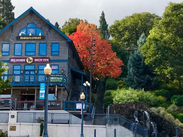 Big Horse Brew Pub in Hood River, OR