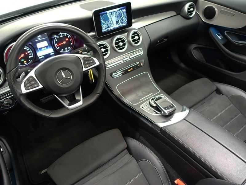 Mercedes-Benz C-Klasse Cabrio 180 Ultimate AMG Edition Aut- Leer, Navi, Led, LMV , 40dkm ! afbeelding 21