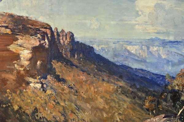 Arthur Streeton The Blue Mountains Cropped Event Detail