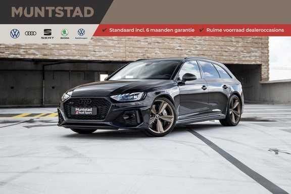 Audi A4 Avant 2.9 TFSI RS4 quattro | 450PK | Style pakket Brons | Keramische remschijven | RS Dynamic | B&O | Sportdifferentieel | 280 km/h Topsnelheid |