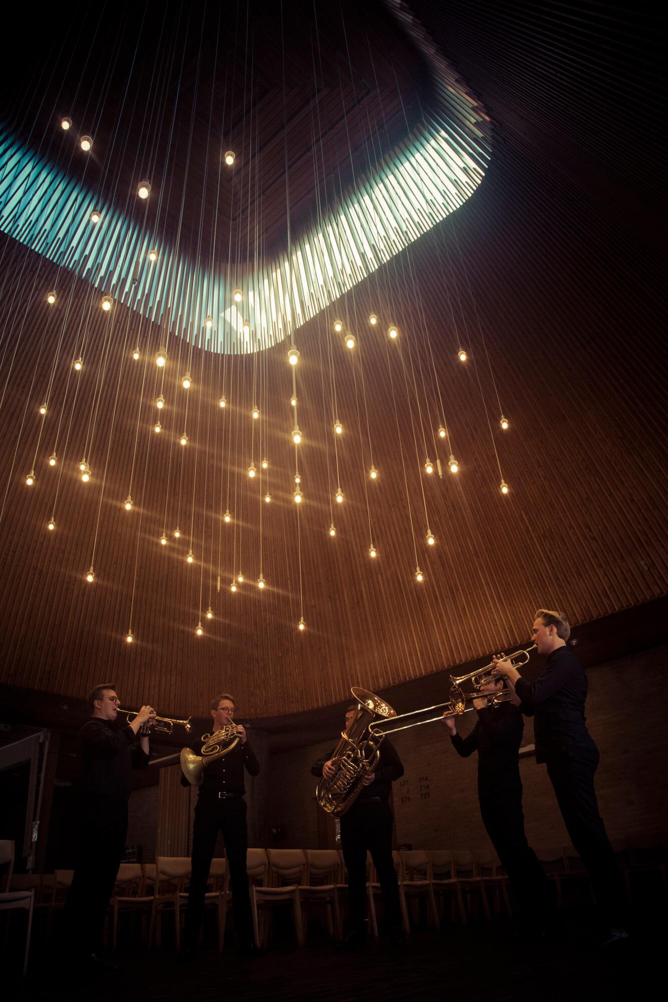 Bilde av Københavns messingkvintett