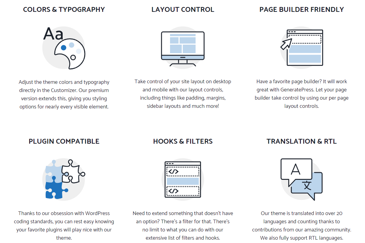 Screenshot for Theme GeneratePress