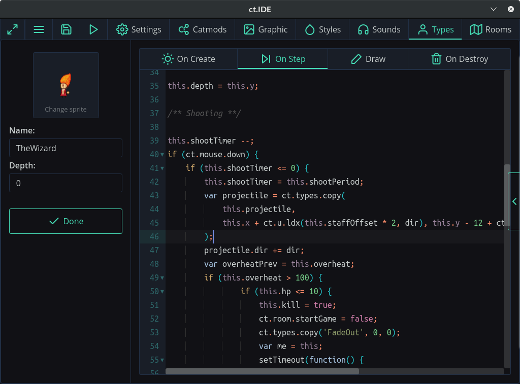 Ct js — a free game editor