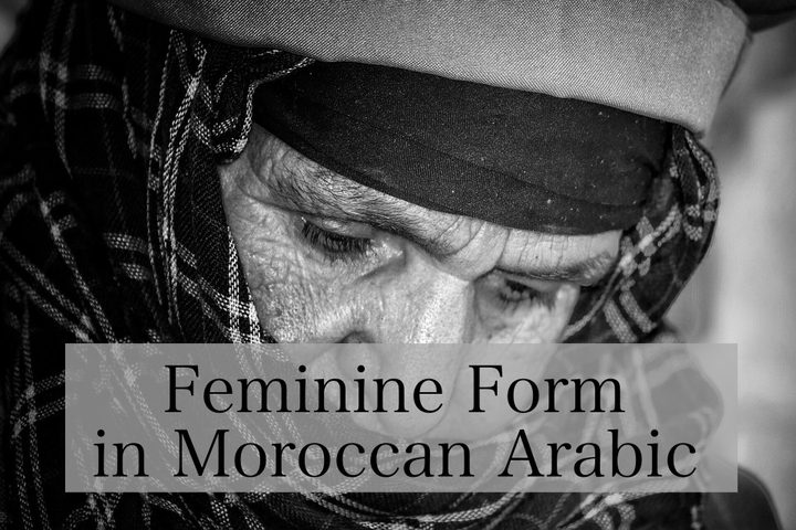 Feminine Form in Moroccan Arabic