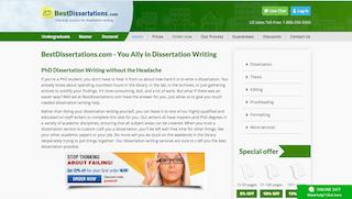 bestdissertations.com main page