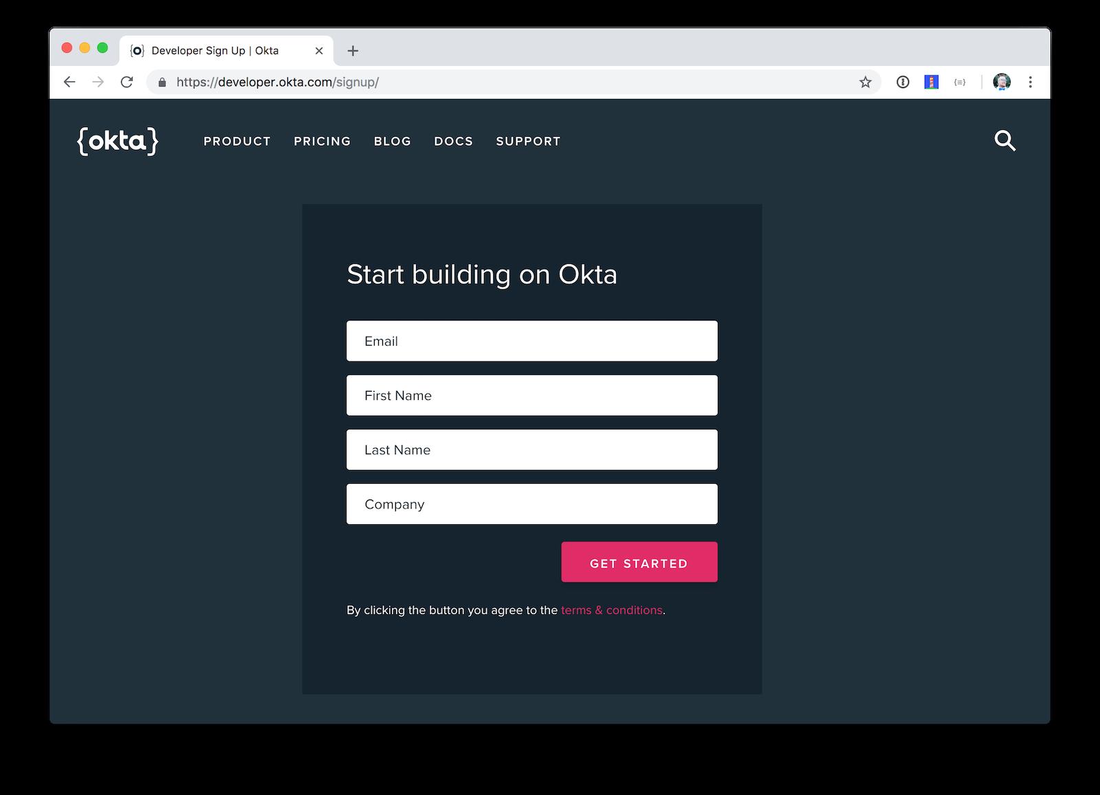 Free developer account!