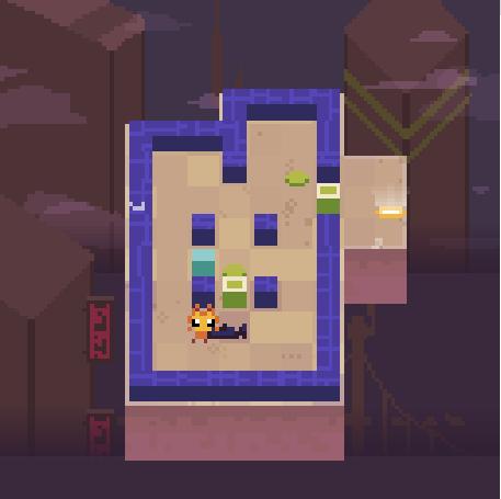 Simple maze level