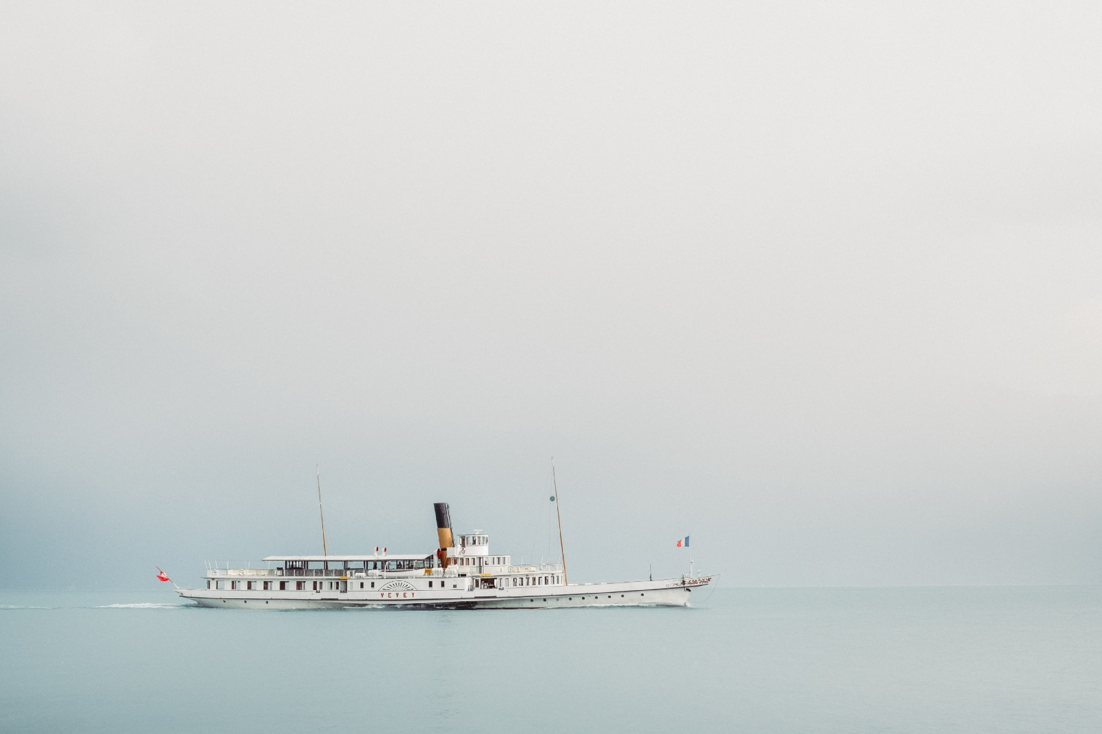 Boat in smooth waters