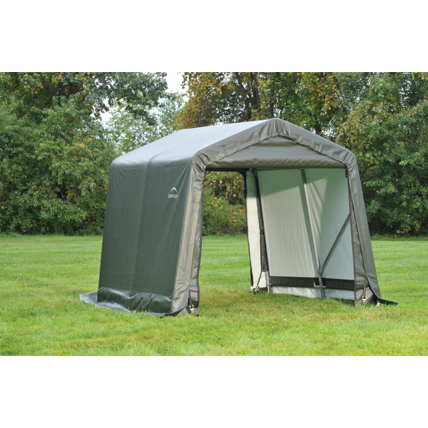 8x8x8 Round Shelter Grey Colour