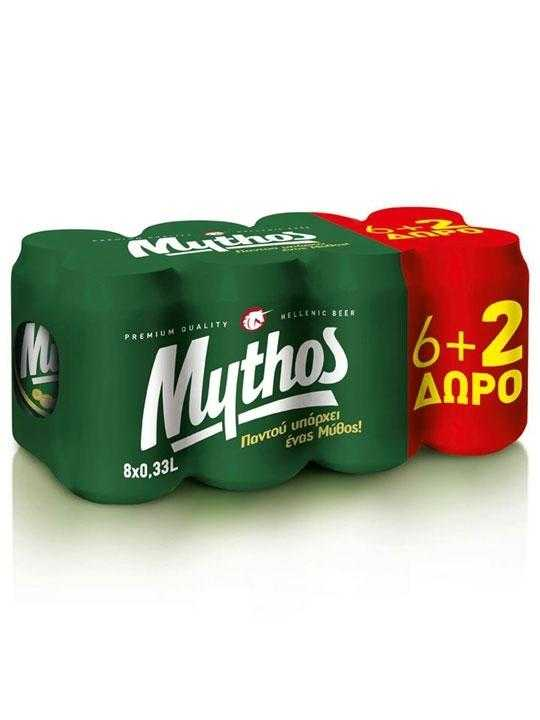 mythos-beer-24-cans-330ml-olympic-brewery