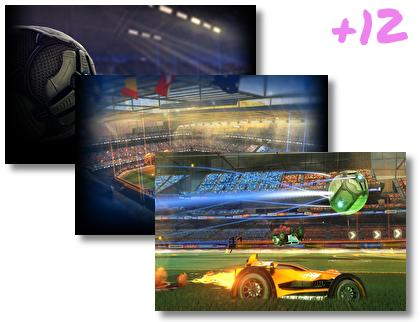 Rocket League theme pack