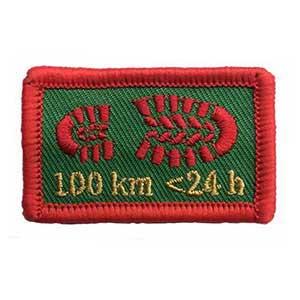 100 km < 24 h spejdermærke