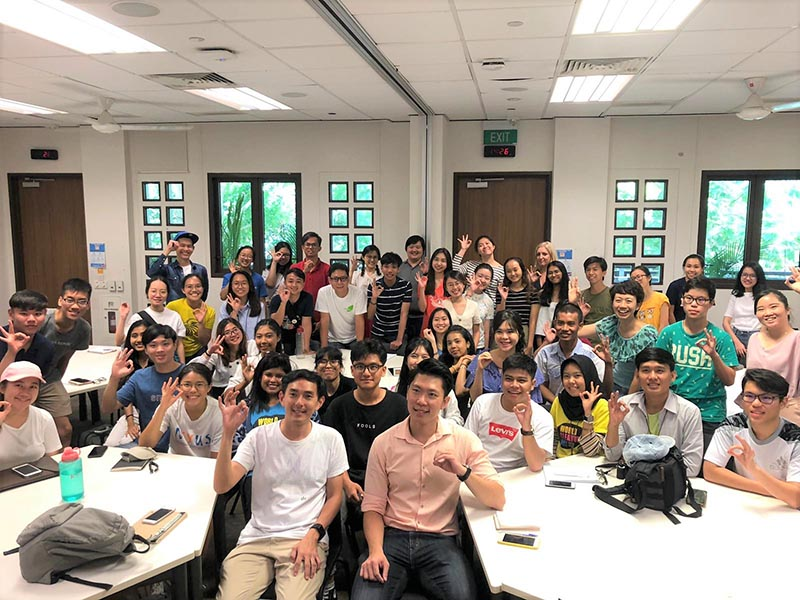 Waste Management and Recycling Association of Singapore outreach sessions
