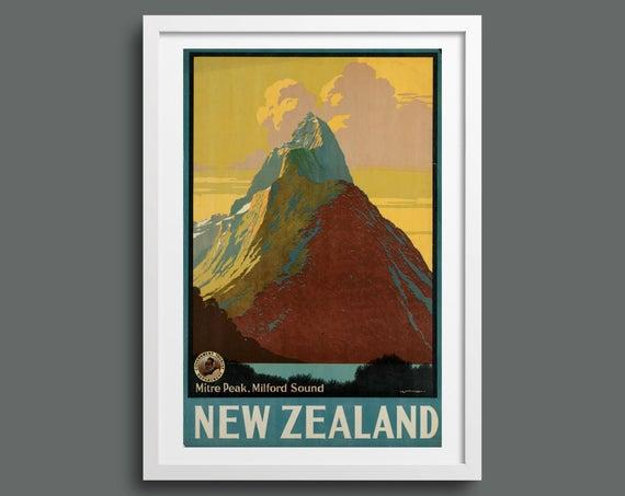 See Mitre Peak, New Zealand