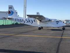 Flying to Great Barrier