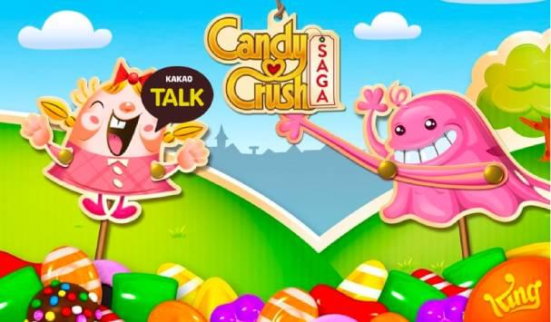 Candy Crush Saga with KakaoTalk logo