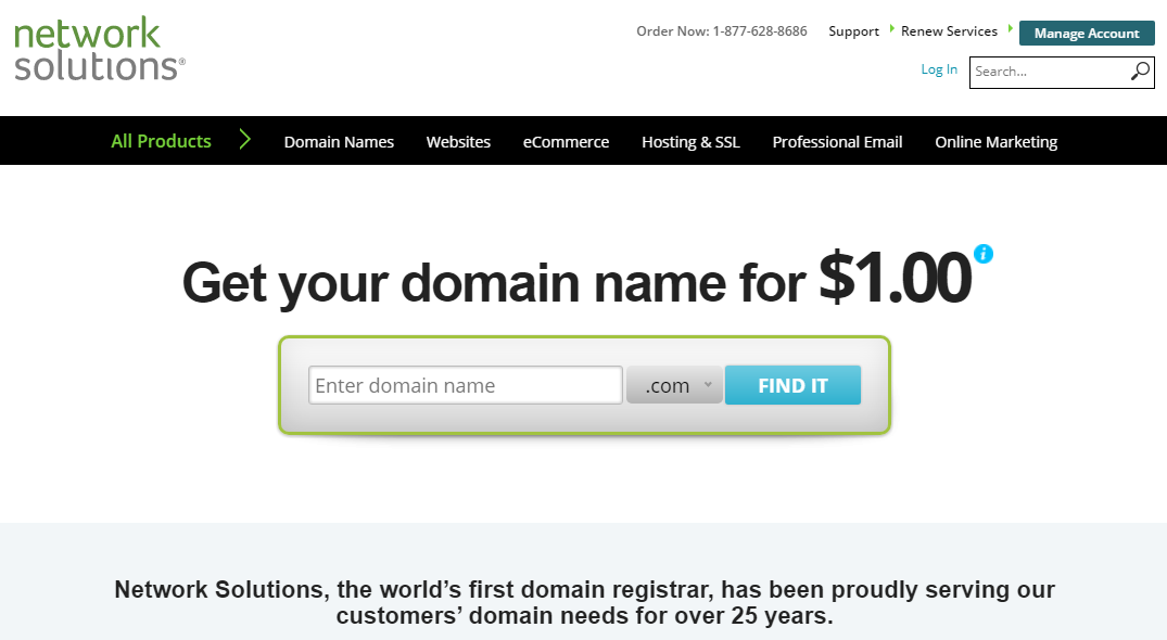 Register Top Domain Names At $2.95 Only, Upto 1 Domain