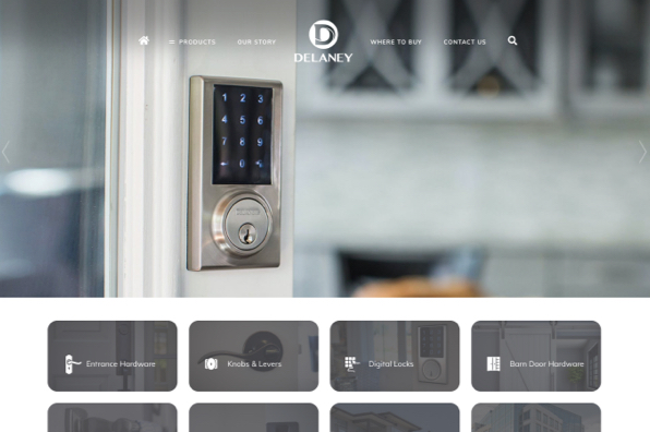 Screenshot of Delaney Hardware