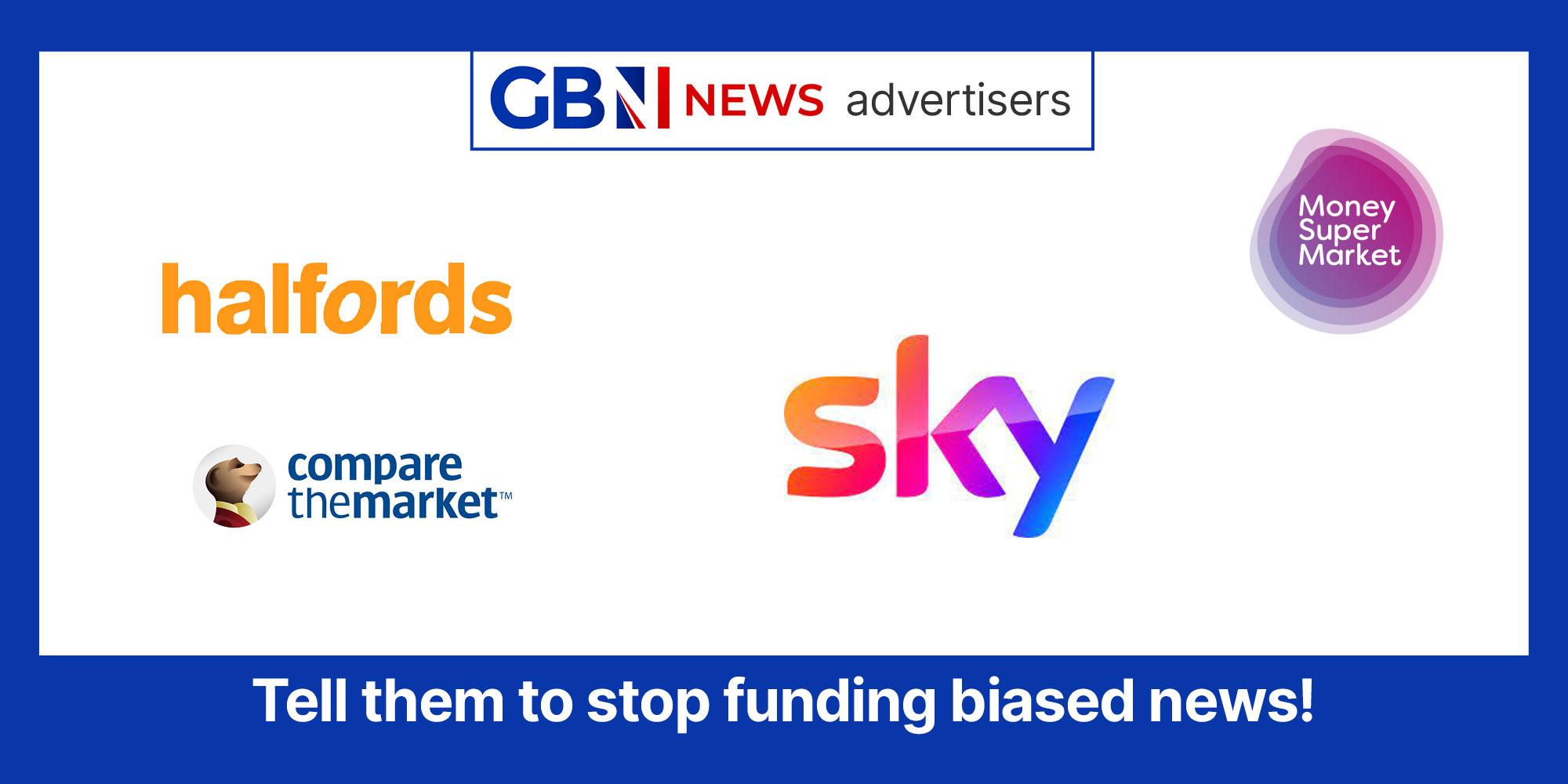 GB News advertisers