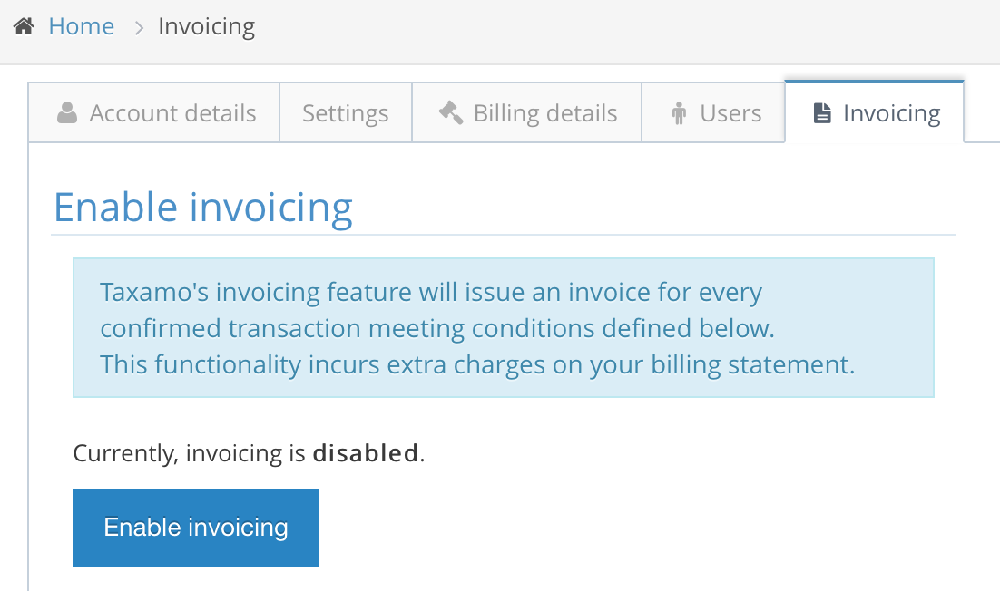 Invoicing Introduction - Invoice package