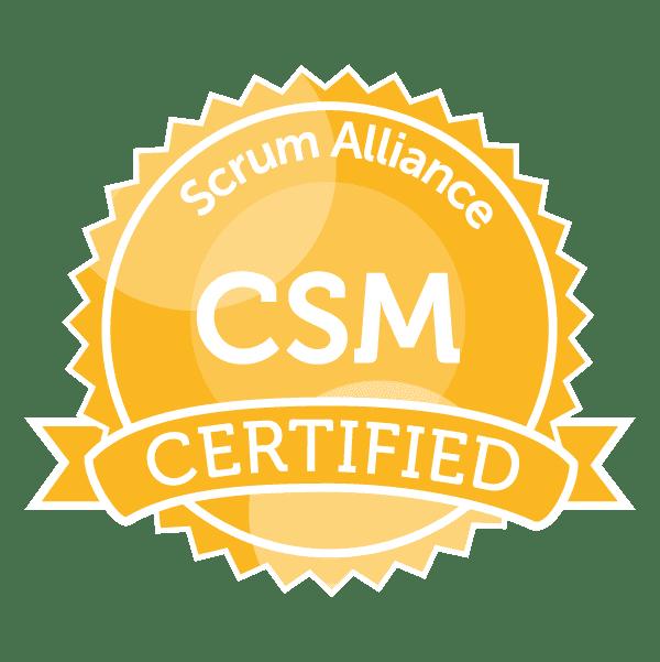 認定スクラムマスター(Certified ScrumMaster®:CSM®)