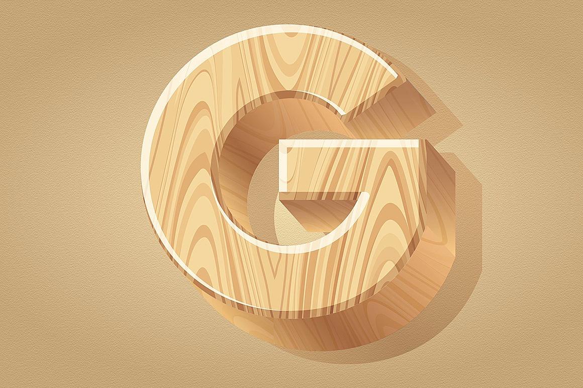 Wooden Alphabet images/1-3D-wood-typography_5.jpg