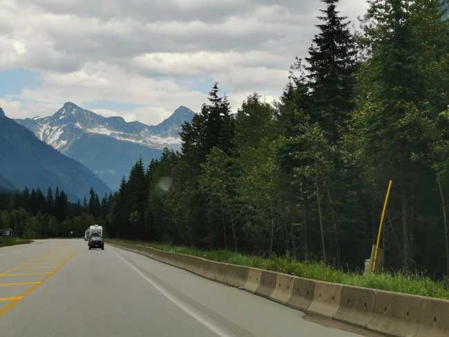 Route du mont revelstock