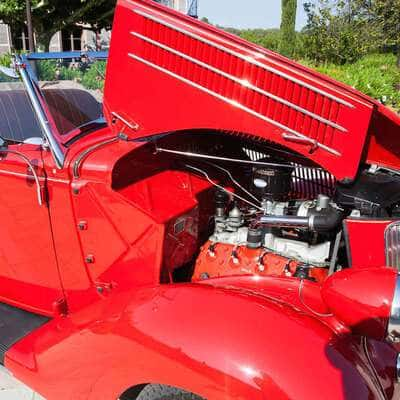 Ford V8 DeLuxe 2 Door Roadster 1936 3