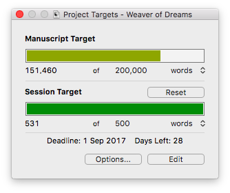 End day three word count