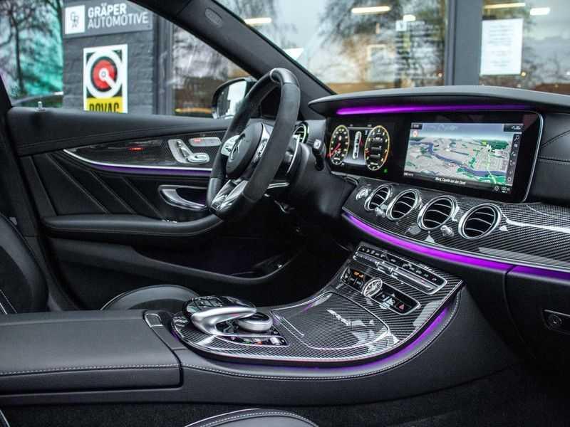 Mercedes-Benz E63 S E-klasse Burmester AMG-Performance-stoelen 63 S AMG 4Matic Premium Plus afbeelding 19