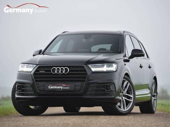 Audi Q7 3.0TDI 272Pk S-Line 7p Quattro Lucht Pano Standk Head-Up 360-Camera 21-Inch Trekh