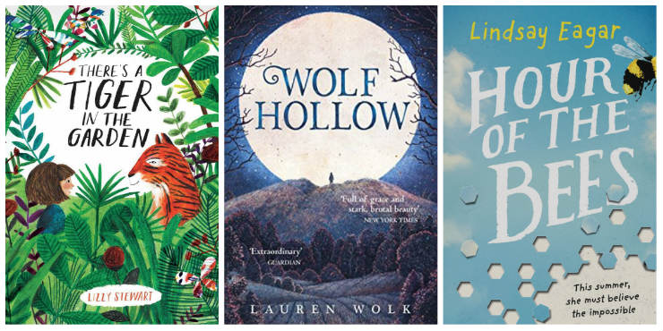 There's a Tiger in the Garden, Wolf Hollow, Hour of the Bees