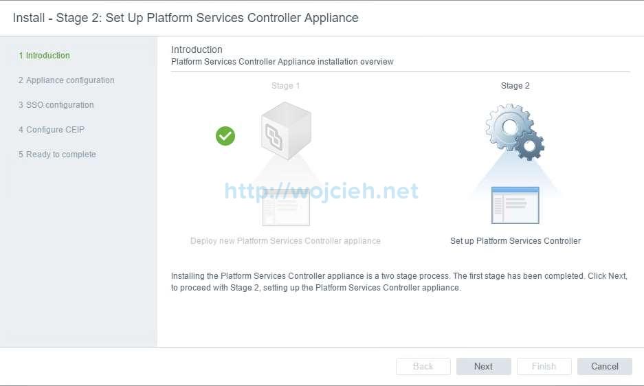 vCenter Server Appliance 6.5 with External Platform Services Controller - 13