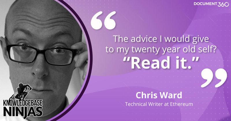 Knowledgebase Ninjas - Managing Shareholders with Chris Ward of Ethereum