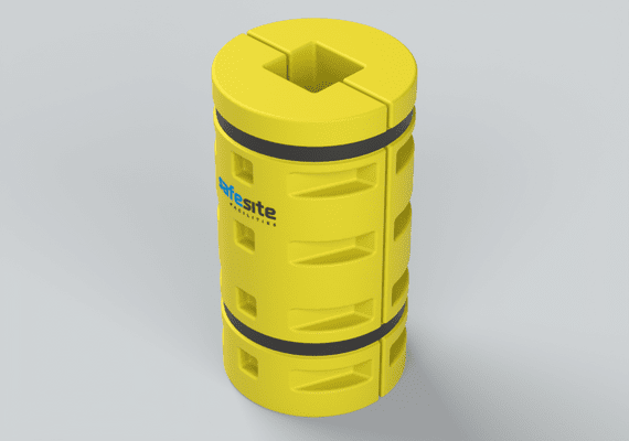 Column Protector Yellow