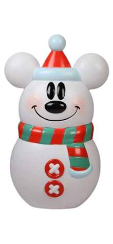 Mickey Mouse Snowman photo
