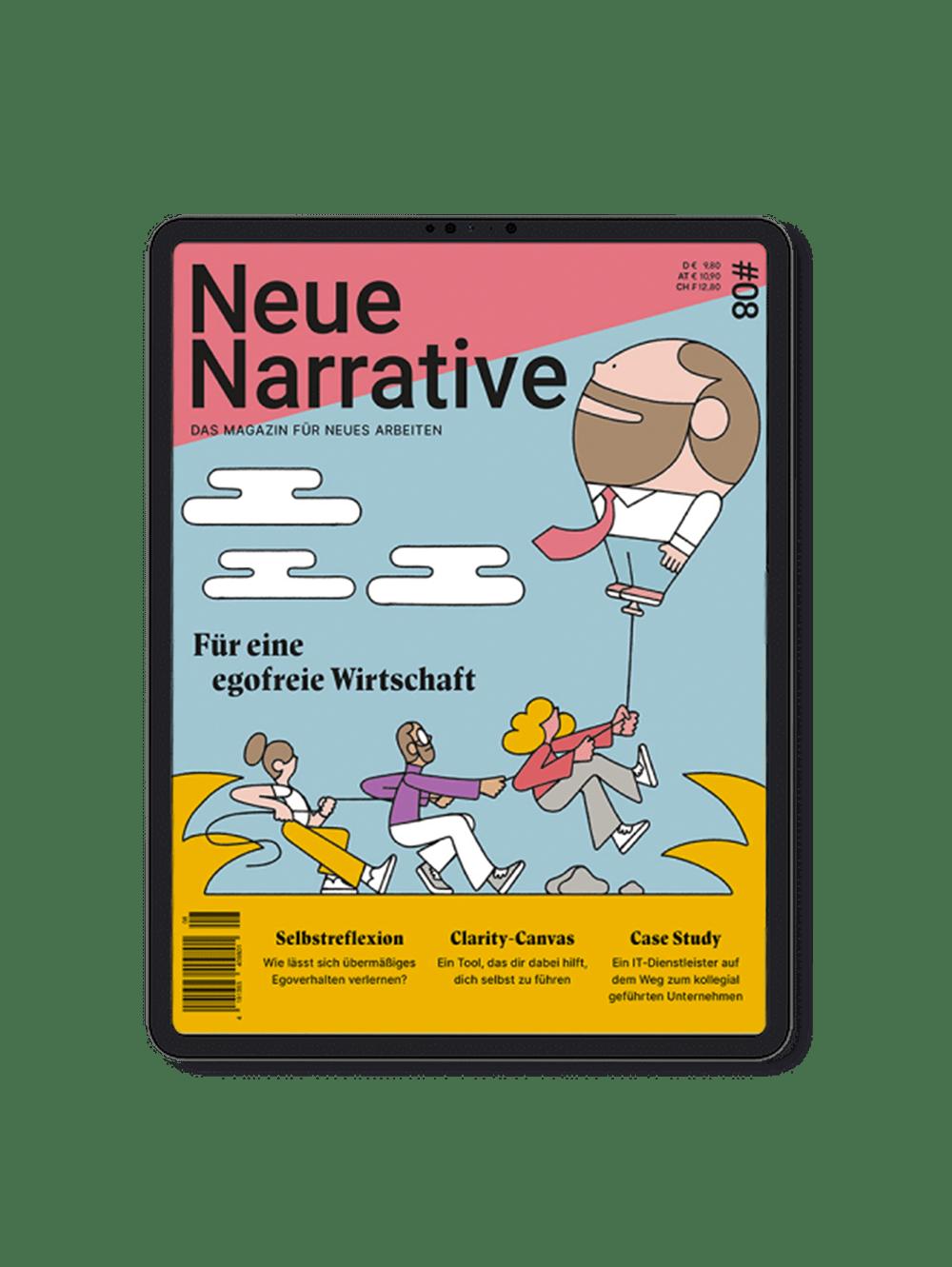 Cover Ausgabe 8: Für eine egofreie Wirtschaft