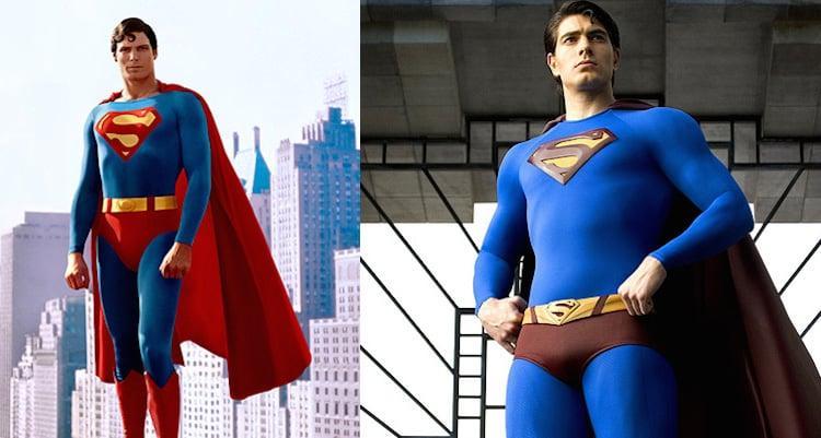 A Melhor Saga do Superman e seus dois interpretes