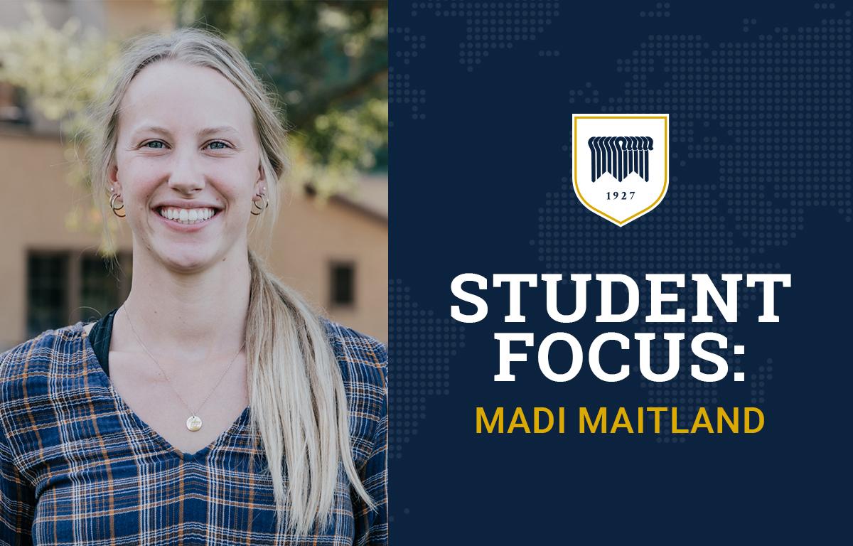 Student Focus: Madi Maitland image
