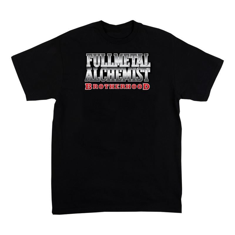 Fullmetal Alchemist Women's Black Short Sleeve Shirt