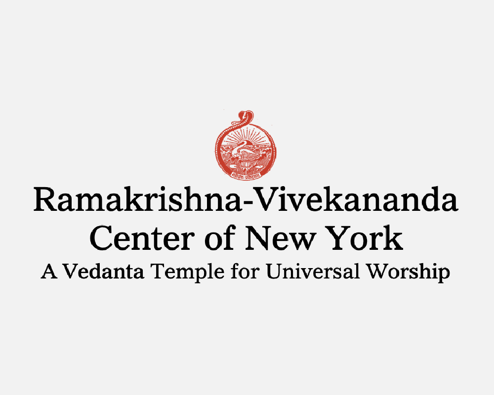 Ramakrishna-Vivekananda of New York set in serif typeface