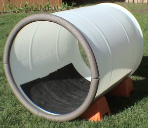 Barrel with Tape and Padding