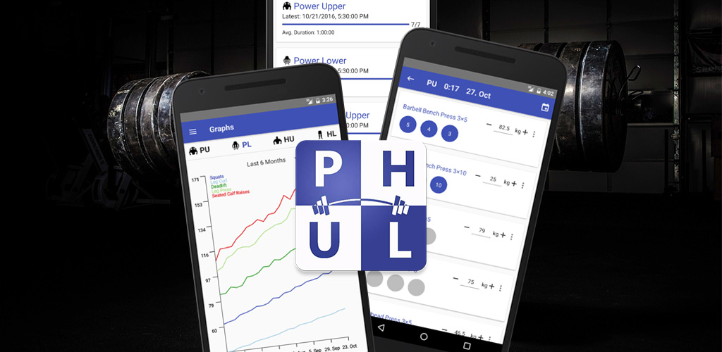 React Native PHUL Workout Log