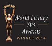 World Luxury Spa award 2014