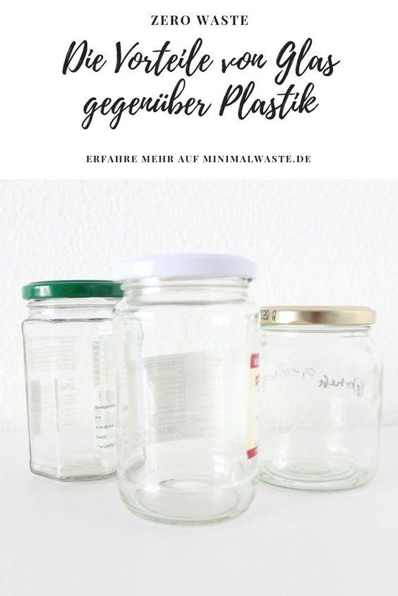 Pinterest Cover zu 'Die Vorteile von Glas gegenüber Plastik'