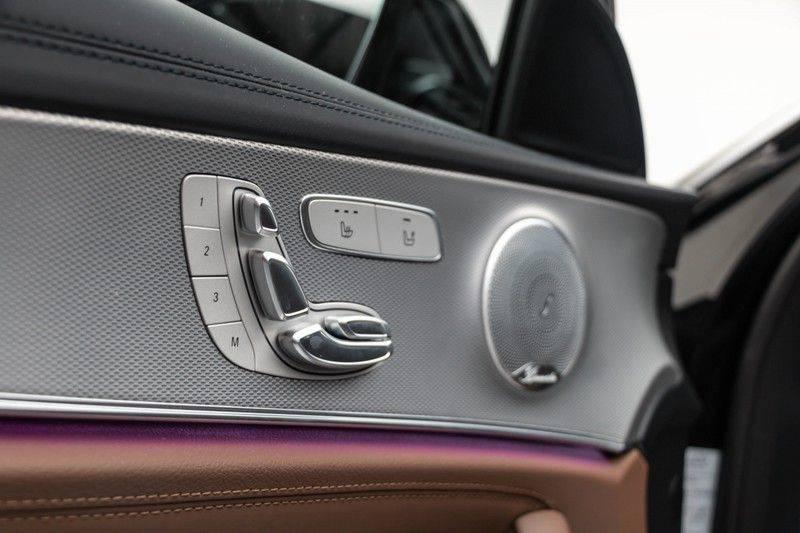 """Mercedes-Benz E-Klasse E63s AMG 4Matic 612pk Panoramadak Distronic Schaalstoelen Burmester ComandOnline Keyless 20"""" Parktronic Pdc VerlengdeGarantie t/m 03/2022 afbeelding 15"""