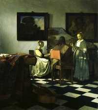 The Concert by Vermeer, c. 1664, 1990: stolen from Isabella Stewart Gardner Museum
