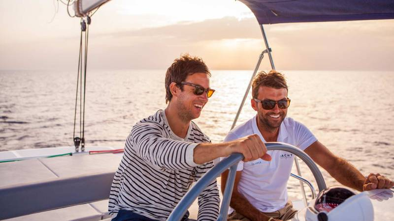 The secret ingredient in a successful sailing holiday? A skipper…